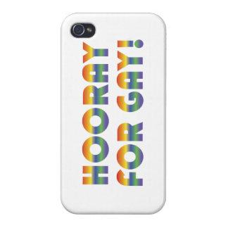 Hooray para el caso gay del iPhone 4/4S iPhone 4 Funda