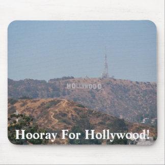 ¡Hooray para Hollywood! Tapetes De Ratón
