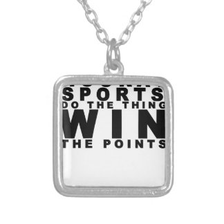 Hooray Sports Do The Thing Win The Points T-shirt. Necklaces