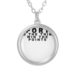 Hooray Sports Do The Thing Win The Points T-shirt Pendants