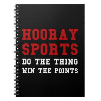 Hooray Sports Notebook