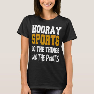 Hooray Sports Women's Basic T-Shirt