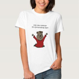 hooray su día de la marmota poleras