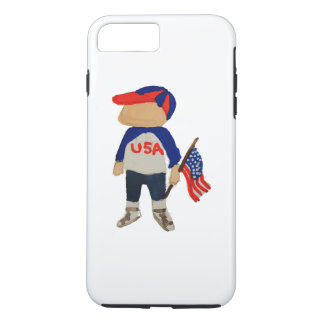 Hooray USA Red, White and Blue 4th of July Toddler iPhone 7 Plus Case