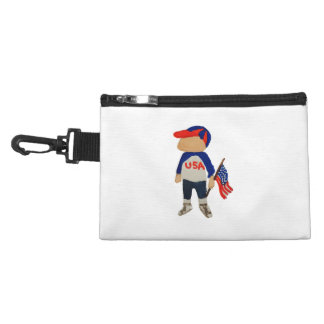 Hooray USA Red, White and Blue Toddie Time July 4 Accessory Bags