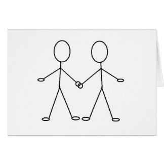 HOORAY !! YOU'RE GAY !! GREETING CARD