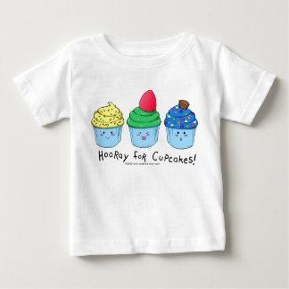 hoorayforcupcakesboy baby T-Shirt
