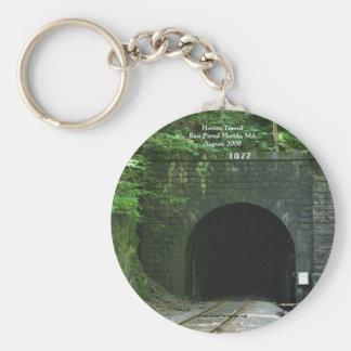 Hoosac Tunnel East Portal Florida MA Keychain