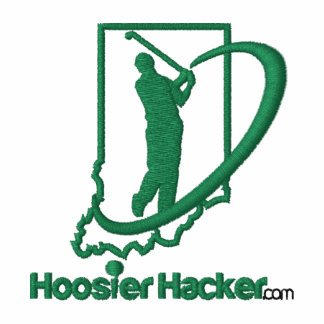 Hoosier Hacker Embroidered Polo Shirt