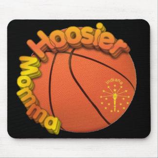 Hoosier Momma BASKETBALL FAN Mouse Pad