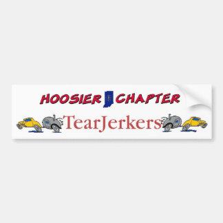 Hoosier TearJerker Bumper Sticker Car Bumper Sticker