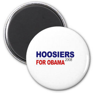 Hoosiers For Obama Magnet