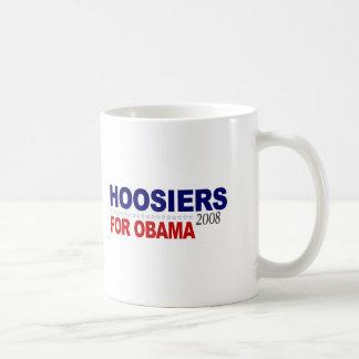 Hoosiers For Obama Mug