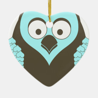 Hoot! Ceramic Ornament