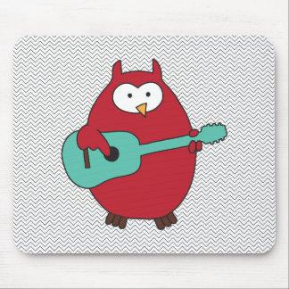 """Hoot""enanny Owl Mouse Pad"