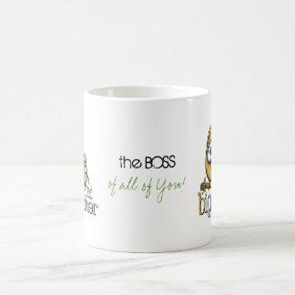 Hoot for Big Brother - Baby Sis Coffee Mugs
