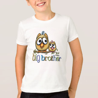 Hoot for Big Brother - Baby Sis T-Shirt