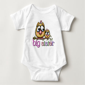 Hoot for Big Sister Baby Bodysuit