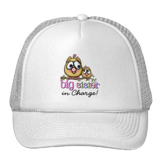Hoot for Big Sister Trucker Hat
