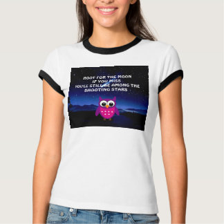 HOOT for the Moon Owl  T-Shirt