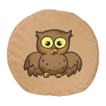 Hoot Hoot owl Pouf