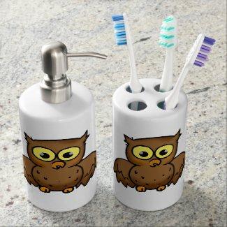 Hoot Hoot owl Toothbrush Holder