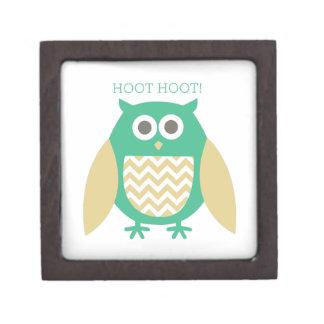 Hoot Hoot Premium Keepsake Boxes