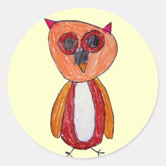 Hoot Hoot the Owl Sticker
