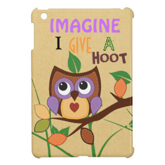 Hoot iPad Mini Glossy Finish Case iPad Mini Cover