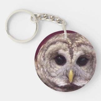 Hoot Key Ring Keychain