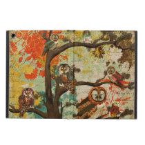 Hoot Oak Case Cover For iPad Air