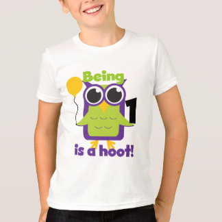 Hoot Owl 1st Birthday T-shirts and Gifts