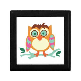 Hoot Owl Jewelry Box