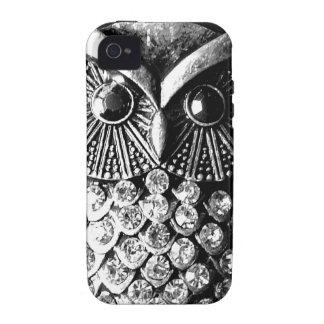Hoot Owl - Glitter n' Glam Vibe iPhone 4 Case