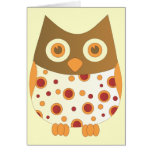Hoot Owl Greeting Cards