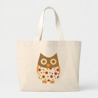 Hoot Owl Large Tote Bag