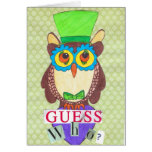 hoot owl note card
