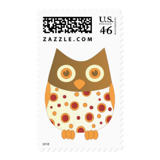 Hoot Owl Postage Stamps
