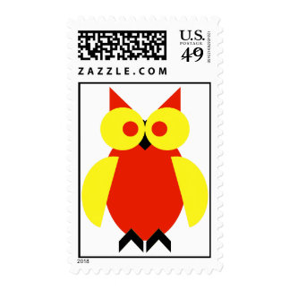 Hoot Owl Stamp