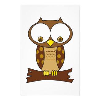 Hoot Owl Stationery