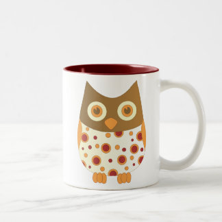 Hoot Owl Two-Tone Coffee Mug