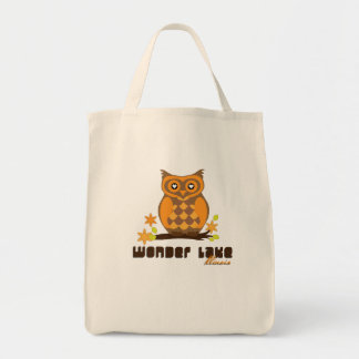 Hoot Owl Your Custom Grocery Tote