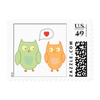 Hoot Owls Postage