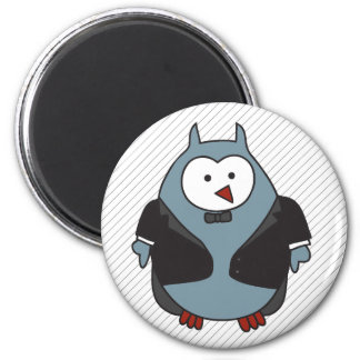 Hoot Suit 2 Inch Round Magnet
