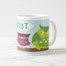 Hoot the Colorful Owls 20oz Mug