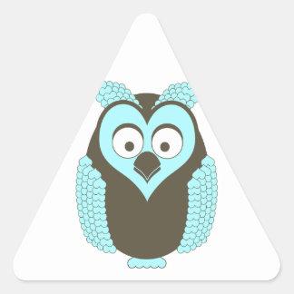 Hoot! Triangle Sticker