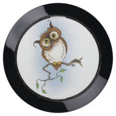 Hoot USB Charging Station at Zazzle