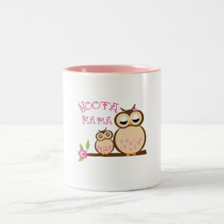 Hoota Mama Two-Tone Coffee Mug