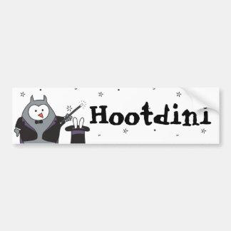 Hootdini Bumper Sticker