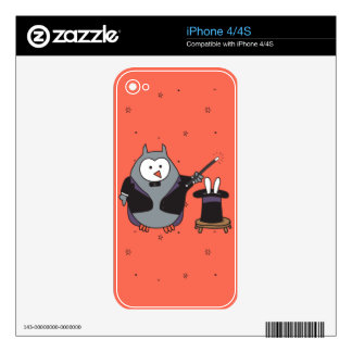 Hootdini Decals For iPhone 4